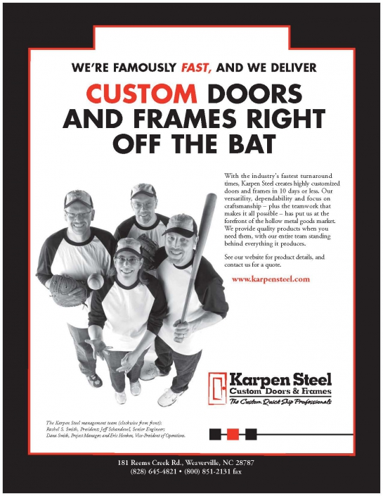 Custom Doors And Frames Right Off The Bat