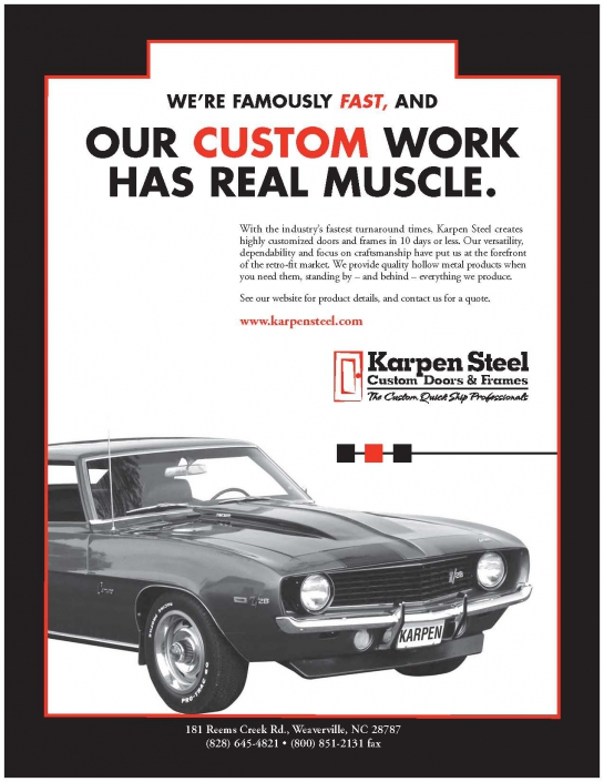 Our Custom Work Has Real Muscle